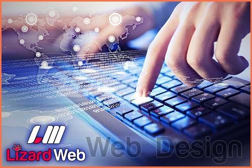 طراحی سایت لیزارد وب, طراحی سایت لیزارد, لیزارد وب